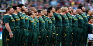 Springboks Afrique sud